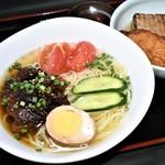 福島屋 - 牛すじ冷麺&おでん定食Ⓒ(夏季限定)