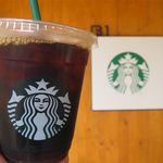 スターバックスコーヒー - ドリンク写真:アイスコーヒー(トール、356円)