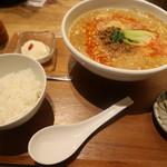 112206192 - ランチの坦々麺