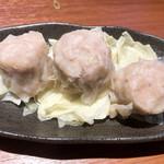 ます家 - 鹿児島産黒豚シュウマイ380円