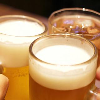 飲み放題もご注文可能です。おいしい焼肉とお酒で最高の時間を。