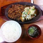 笠間苑 - 焼肉ランチ500円