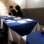 トラットリア・イル・グラディーノ - テーブル席