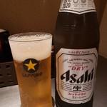 つけ麺さとう - ビール2019.7.21
