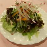 ラ・リヴィエール - ランチのサラダ