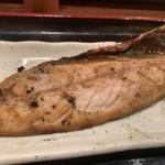 大衆浜焼 清水清太郎 - サバ文化干し定食 サバアップ