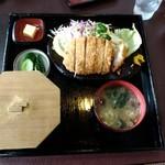 食事処富久 - 料理写真:竹定食1000円