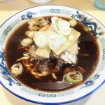 お食事処 喜八 - 料理写真:富山ブラックラーメン並