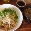 らーめん ふじもと - 料理写真:つけ麺1玉850円 冷たい麺、さんまダシ、醤油