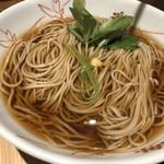 蕎麦切り 爾今 - 天ぷら蕎麦(温)