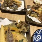 蕎麦切り 爾今 - 天ぷら
