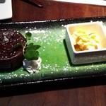 hwaja - デザート+300円 しっとりフォンダンショコラ