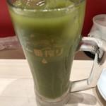 立ち食い鮨 鈴な凛 - 鈴な凛緑茶ハイ。