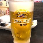 楽笑 - 生ビール