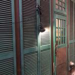 喜多嶋ラーメン - スナックのような佇まいの入口