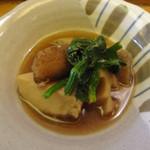 たけ美 - 里芋・蓮根・牛蒡・蒟蒻の煮物(ランチ副菜)