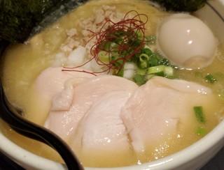 濃厚鶏麺 ゆきかげ - 特製濃厚鶏白湯