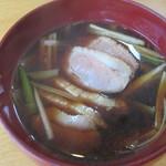 浅間 翁 - 熱々な鴨汁!