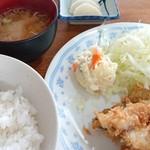 シェット - アジフライ定食