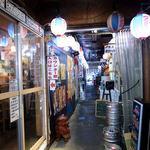 沖縄大衆酒場 島人 - お店の入口