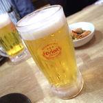 沖縄大衆酒場 島人 - オリオンビール 生中(480円)