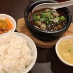 112258119 - 頂天石焼麻婆豆腐