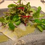 レストラン 拓 - 鮮魚のカルパッチョ