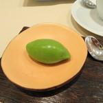 レストラン 拓 - 抹茶のアイス