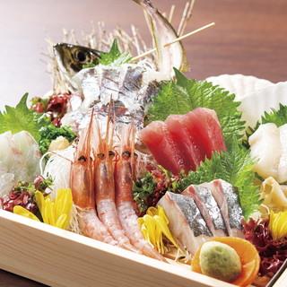 【産地直送!】うおや一丁自慢の新鮮な刺身海鮮!