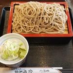 増美家 - 料理写真:もりそば(530円)
