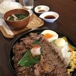 SPOON - お肉ちゃんランチ(*´д`*)ハァハァ(*´д`*)ハァハァ