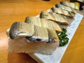 大政 - コハダの押し寿司