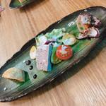 ブラッスリーオオサキ - コース:前菜3種 自分で選びます!