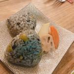 ブラッスリーオオサキ - オリーブの炊き込みご飯