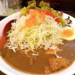 伊万里ちゃんぽん - 生野菜カレーチャンポン