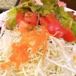 伊万里ちゃんぽん - 生野菜サラダ?