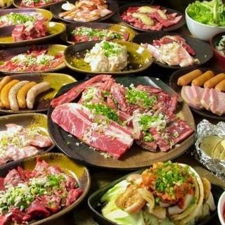 驚きの価格でリーズナブルに楽しめる焼肉食べ放題!