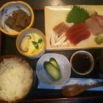 うな文 - ◆お刺身定食900円(税込)◆♪