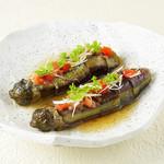 土風炉 夢町小路 - 料理写真:茄子の柚子胡椒トマトソース