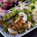 ロイヤルココナッツガーデン - ナムトック(豚肉とハーブのサラダ)