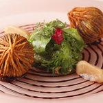 レストラン ヒロミチ - 料理写真:創意工夫をこらしたお料理を・・・