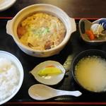 めし処 なかなか - 料理写真:カツとじ定食