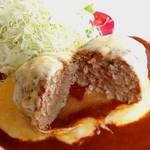 112282609 - チーズハンバーグ(チーズアウト)【Jun.2019】