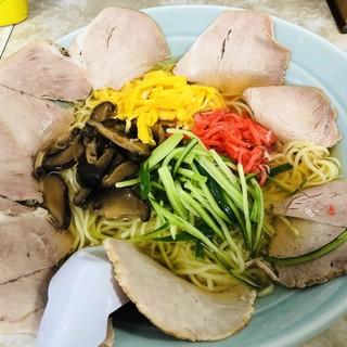 中華亭 - 料理写真:冷し中華(並)+チャーシュー
