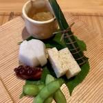 一平 - 前菜の数々