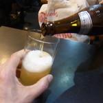 和食亭 - まずはビール
