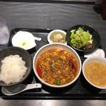 112290162 - 麻婆豆腐セット ¥980-