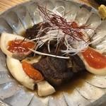 町屋酒場りとも - 三田ポークの角煮と煮卵