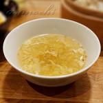 茶月譚 - スープ [魯肉飯セット]