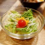 茶月譚 - サラダ [魯肉飯セット]